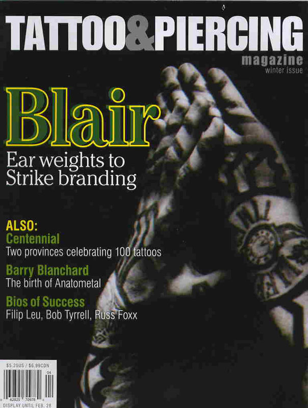 Tattoo & Piercing Magazine - Feb 2006